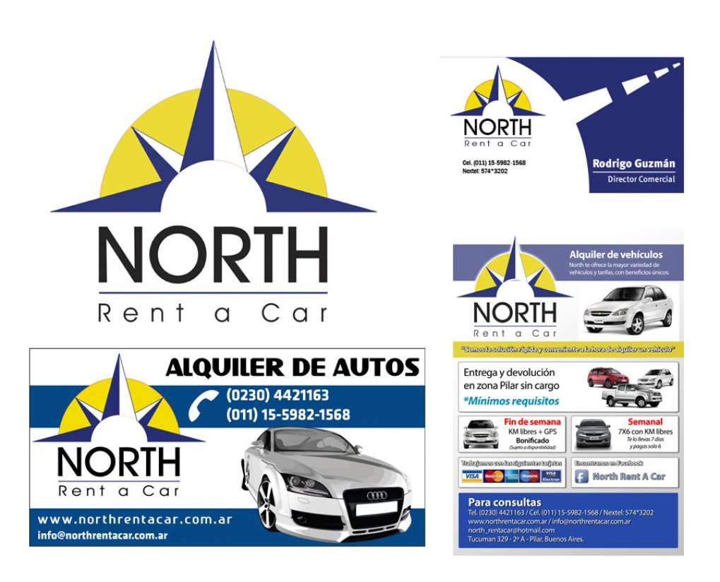 Imagen corporativa de North Rent a Car