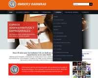 Sitio web CAI Cursos y Carreras