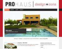 Diseño web para Pro Haus