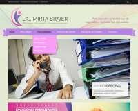 Diseño web para la Lic. Mirta Braier