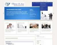 Diseño web para agencia Vittortas & Asoc